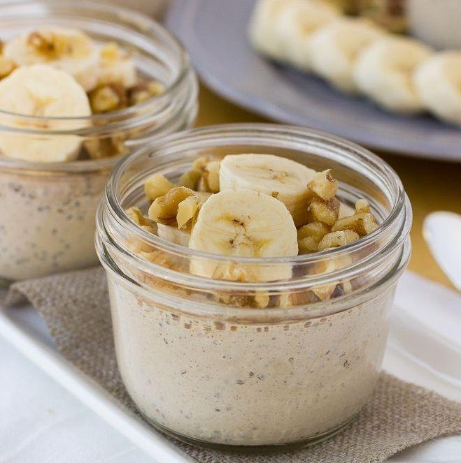 Crema de banane cu seminte de chia - www.Foodstory.ro