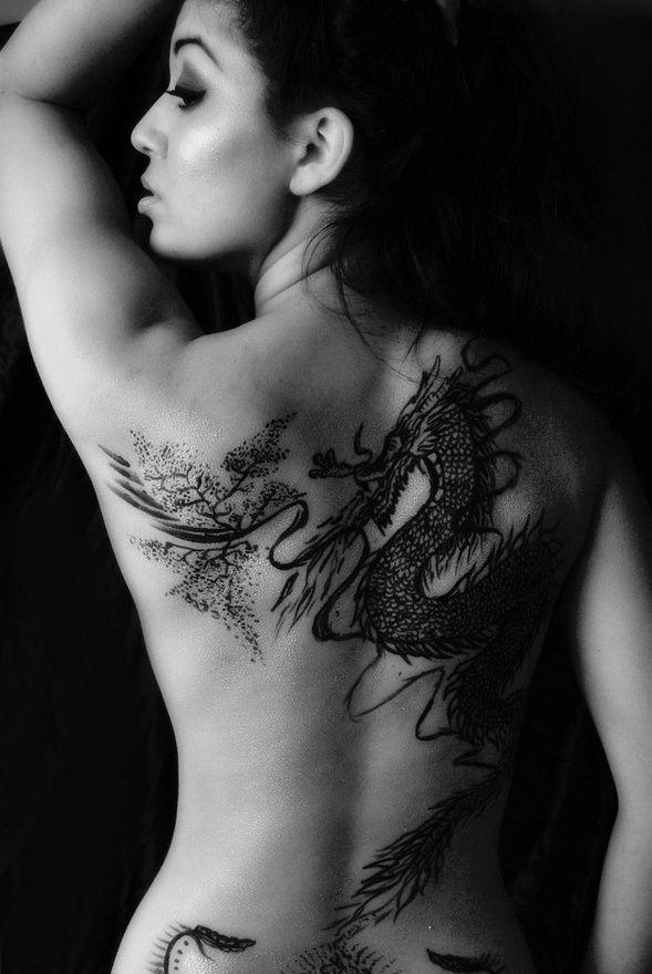 Dragon Tattoo For Women Beautiful Tribal Tattoos For Women
