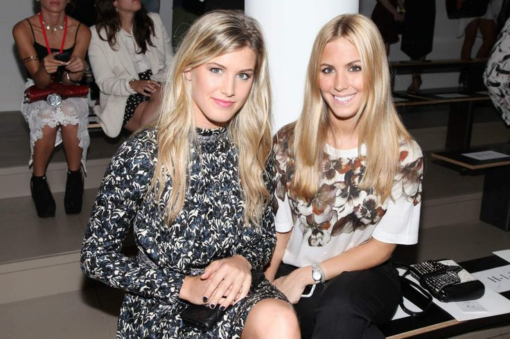 "Eugenie ""Genie"" Bouchard and sister"