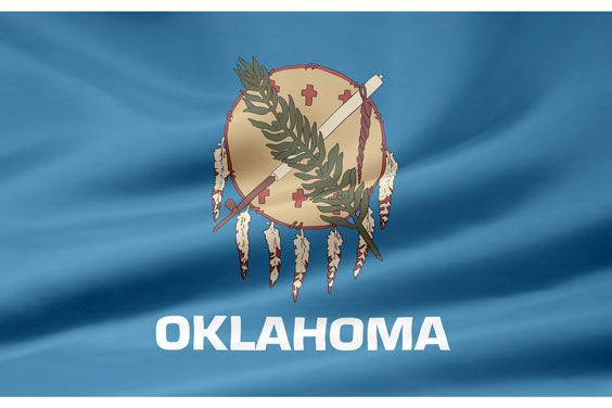 Oklahoma Flag picture