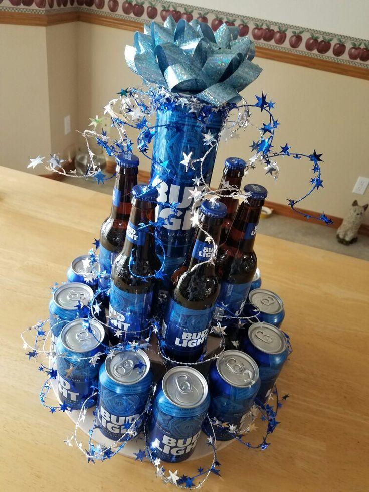 Bud Light Birthday Can Cake! #budlight #cancake