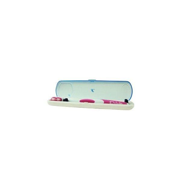 El Esterilizador de Cepillos portátilelimina los gérmenes, bacterias y virus, de los cepillos de dientes, manuales, eléctricos, interdentales, etc.de una manera eficaz y completamente segura para su salud bucodental.Esteriliza los cepillos dentales en sólo 6 minutos, con una eficacia garantizada del 99,99%.¡¡PÍDELO AHORA Y TE REGALAMOS LAS PILAS!! 20€