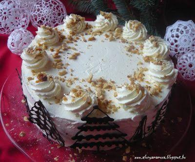 Az áfonya mámora: Somlói galuska torta