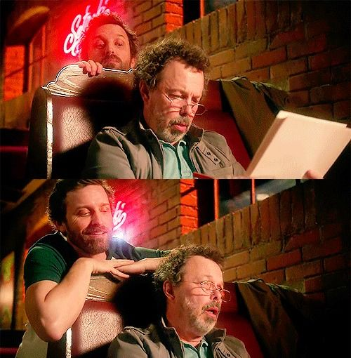 Every writer when someone reads their work. chuck shurley /// supernatural /// don't call me shurley