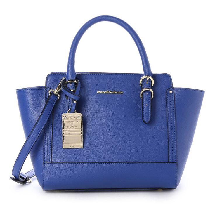 & chouette &シュエット シンプルトートバッグビビッドカラーS(ブルー) -靴とファッションの通販サイト ロコンド