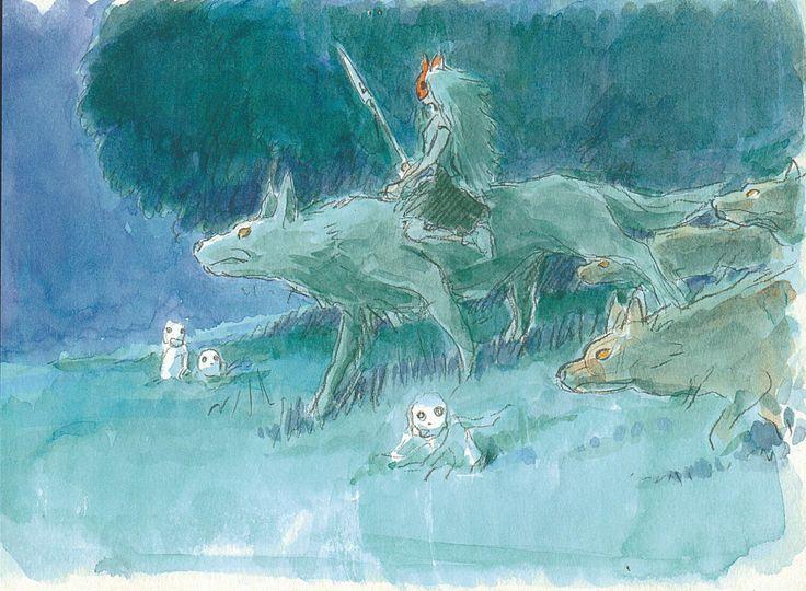 もののけ姫 / Princess Mononoke (1997) - Character Design ✤ || CHARACTER DESIGN REFERENCES | キャラクターデザイン || ✤