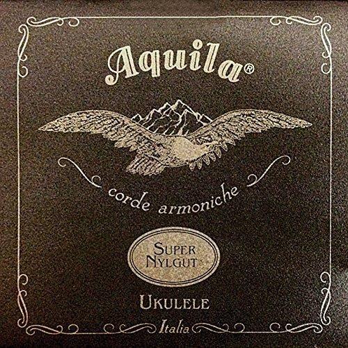 Aquila Super Nylgut AQ-101 Soprano Ukulele Strings - Low G - Set of 4