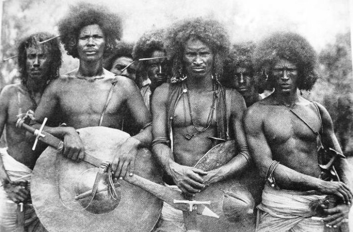 The Beja Tribe of Sudan.