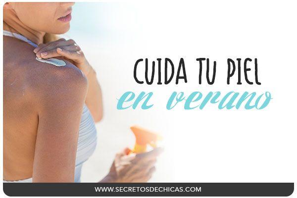 Hoy os voy a dar algunos tips y consejos para cuidar vuestra piel en verano. ¡Ya sabéis que es muy importante darle los cuidados que necesita!
