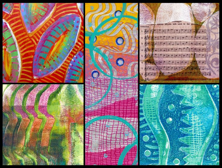 Printing with Gelli Arts®: Gelli® Printing Tutorials—5 Fab Techniques Revisited!