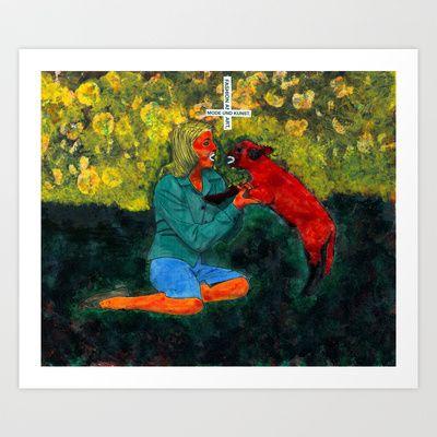 Mode und kunst Art Print by Plasmodi - $21.00