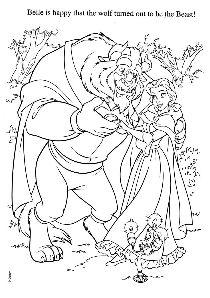 168 best canvas painting ideas images on Pinterest The beast - fresh printable coloring pictures of beauty and the beast