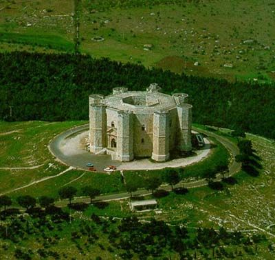 Castel del Monte is a 13th-century citadel and castle situated in Andria in the Apulia region of southeast Italy
