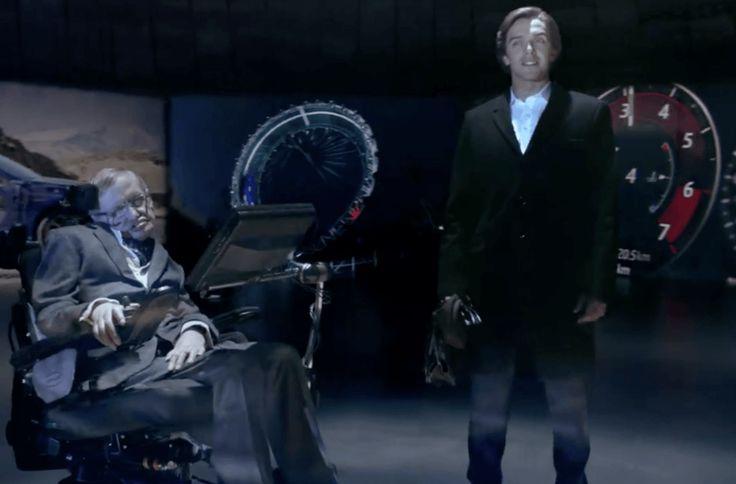 Stephen Hawking se convierte en villano para el último spot de Jaguar. Stephen Hawking a sus 74 años,es la nueva imagen de marca de Jaguar,para el modelo F-PACE. Así lo comunica el propio Hawking…