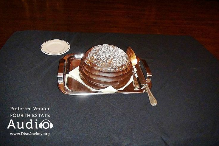 Behold the majesty of Maggiano's signature Chocolate Zuccotto cake. There's none better in the whole world! http://www.discjockey.org/maggianos-schaumburg/