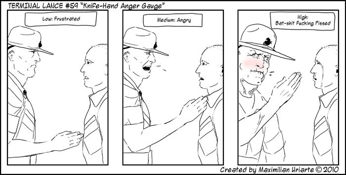 "Terminal Lance #59 ""Knife-Hand Anger Gauge"""