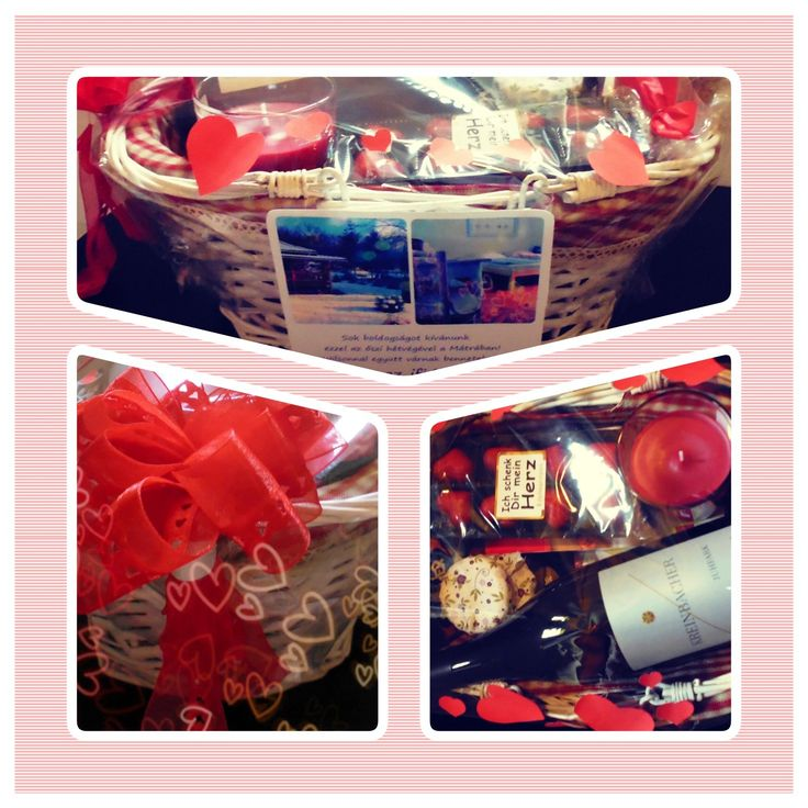 wedding gift, gift, picnic basket, romantic weekend, red ribbon, gift wrapping