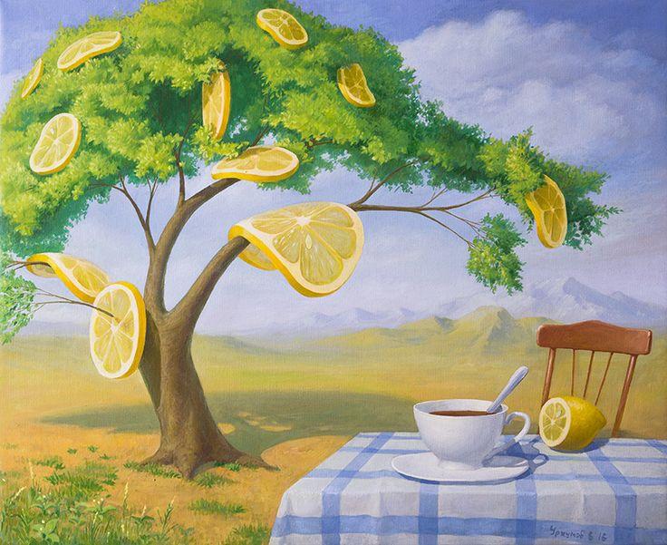 Лимонное дерево. Лето