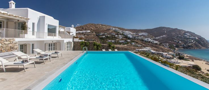 Today we are glad to present Nouvelle. This villa finds space atop the hill just to the back of Elia Beach, part of a brand new development of private properties overlooking the fine sand and clear waters of this famous beach on the southeastern side of Mykonos. If you like, visit... http://www.mykonosvillas.com/our-villas/nouvelle