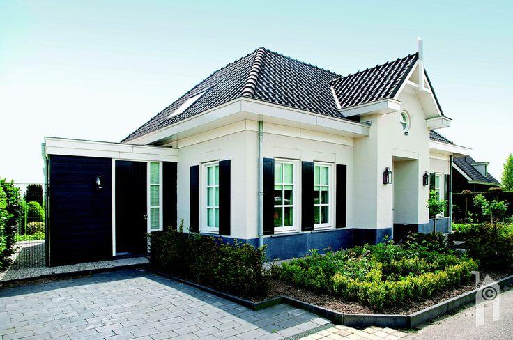 De basis van het ontwerp is een 'notariswoning.