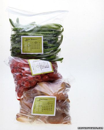 Freezer Labels - Free PDF Template. This should help me get organized and be less wasteful with food!