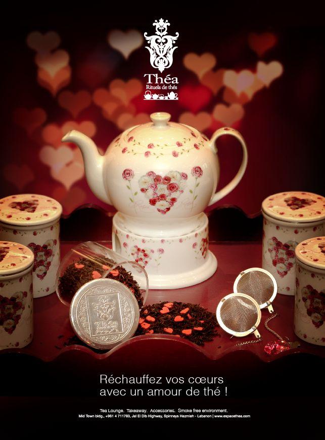 Réchauffez vos cœurs avec un amour de thé - Théa (Valentine)