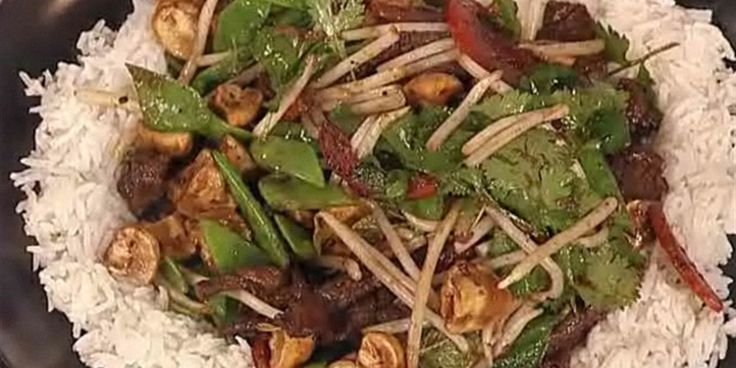Try this Teriyaki Beef Stir Fry recipe by Chef Antony Worrall Thompson.