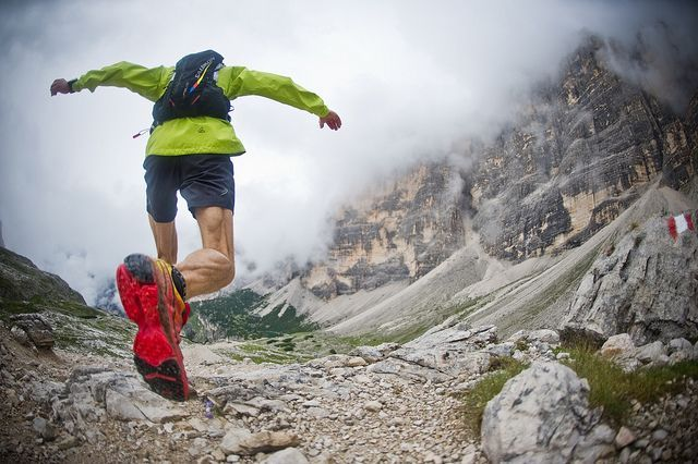 All-out trail running in the Dolomites! By Gore-Tex