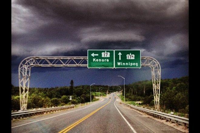 Kenora, Ontario CanadaDate shot: June 27, 2013