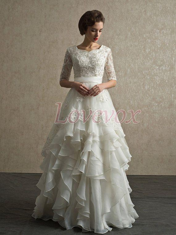 Elegant Modest Wedding Gowns