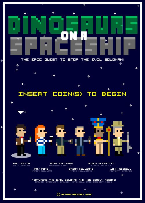 Episode 7x02 - DINOSAURS ON A SPACESHIP: Geek Stuff, Projects Tardis, Spaceships, Geek Places, Doctors Who, Doctor Who, Geek Side, 8Bit Doctors, Geeky Stuff