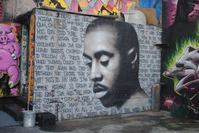 253 best 5pointz images on pinterest graffiti graffiti for Nas mural queens