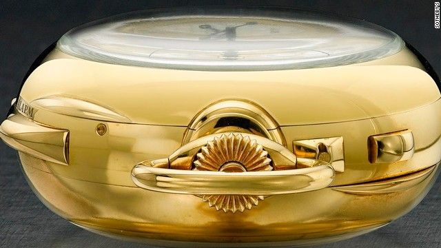 """The Henry Graves 'Supercomplication' timepiece sold for $24 million at Sotheby's 2014 Important Watches sale, breaking its own record for a watch sold at auction. It boasts 24 separate """"complications"""", a technical term meaning a functionality other than timekeeping."""