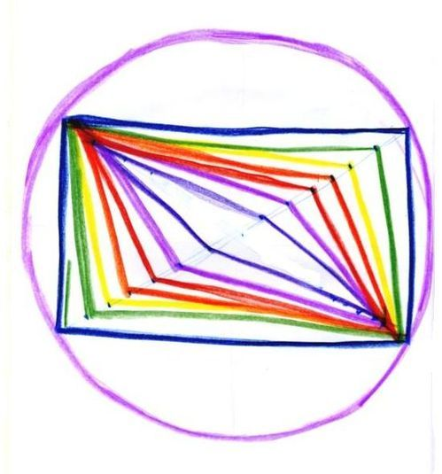 Waldorf ~ 5th grade ~ Form Drawing ~ Freehand Geometry ~ #21 ~ main lesson book