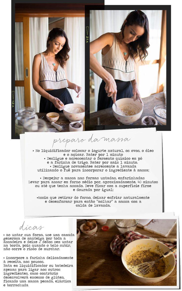 Aprenda a fazer o delicado bolo perfumado de lavanda da Bolo da Madre • Living Gazette