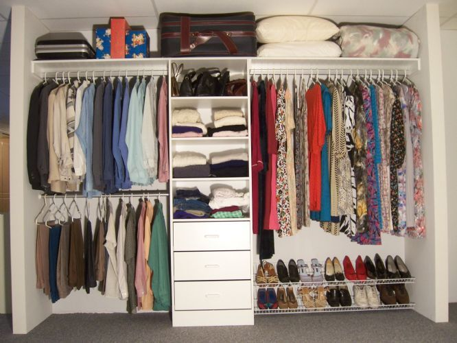 17 best images about bedroom closet ideas on pinterest for Inside wardrobe storage