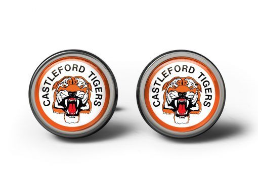 Castleford Tigers Cufflinks #cufflinks #rugby #sports #personalisedcufflinks