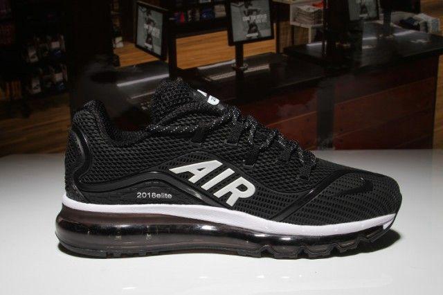 represa cocina Mejor  Mens Shoes Nike Air Max 2018 Elite KPU Black White | Mens nike shoes, Nike  shoes air max, Nike air max