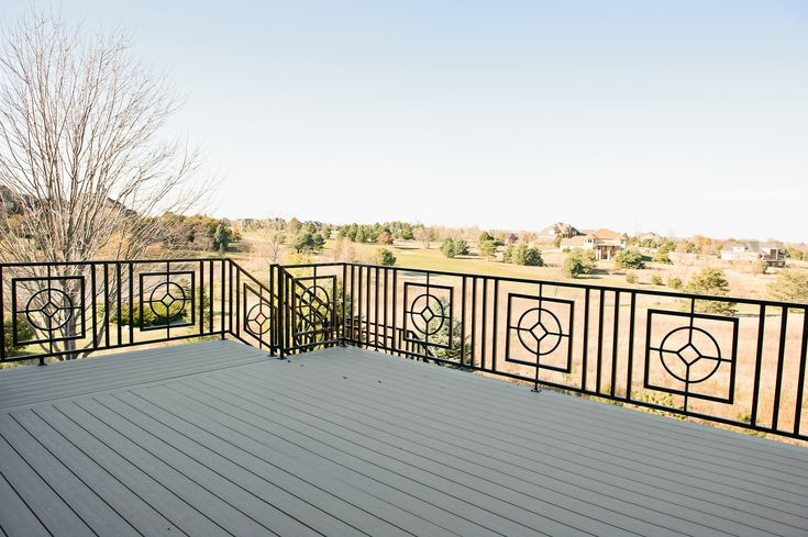 15 Best Wrought Iron Deck Railings Images On Pinterest