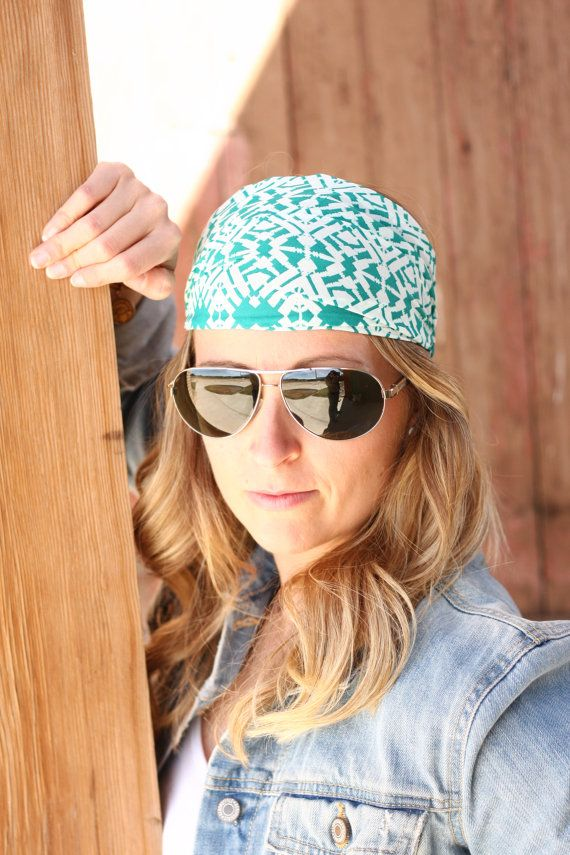 Women's Headband Hair Wrap or Head Wrap with Fabric by BolderBags, $15.00   – For you with LOVE