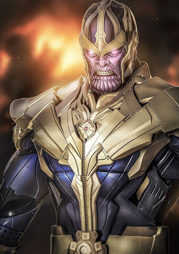 Thanos on Behance