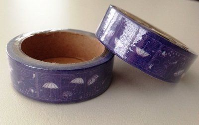 Moomin Masking Tape | Blue with Umbrella: http://www.stationeryheaven.nl/Moomin