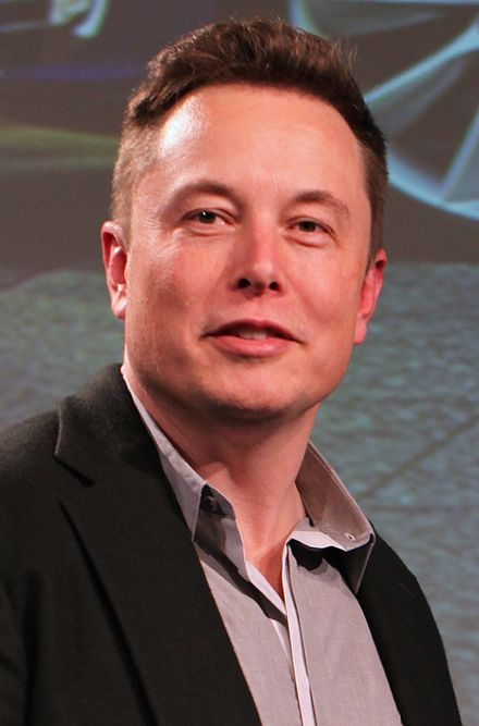 Elon Reeve Musk (/ˈiːlɒn ˈmʌsk/; born June 28, 1971) is a South African-born Canadian-American business magnate,[9][10] engineer,[11] inventor[12] and investor.[13][14][15] He is the CEO and CTO of SpaceX, CEO and product architect of Tesla Motors, and chairman of SolarCity as well as co-chairman of OpenAI. Elon Musk 2015.jpg