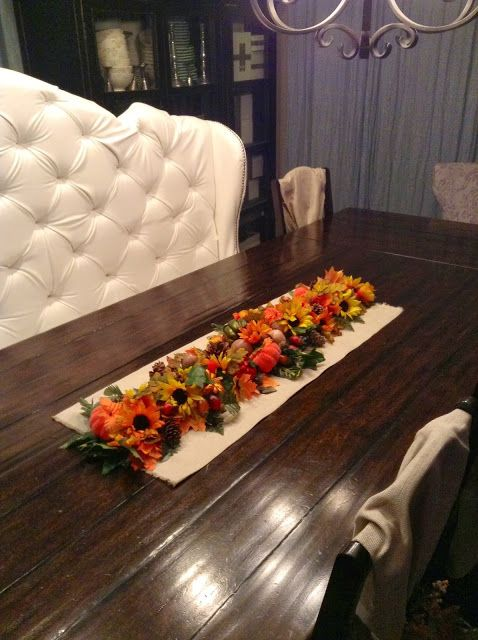 Fall Harvest Table Runner Tutorial