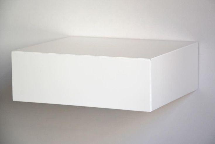 """7 kedvelés, 2 hozzászólás – MyBetterShelf (@mybettershelf) Instagram-hozzászólása: """"Minimalism in your bedroom. Why complicate things? Floating shelf with hidden drawer…"""""""