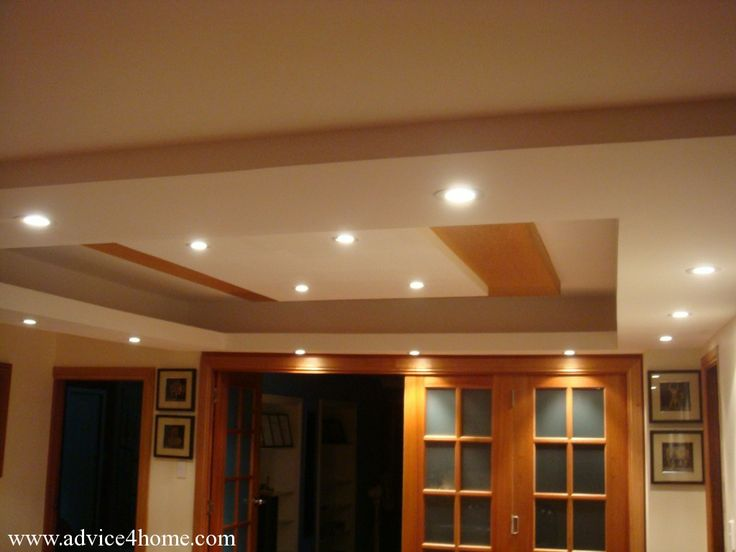 Square Ceiling Design Living Room