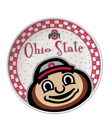 Take a look at this Ohio State Game Day Ceramic Plate by The Memory Company on #zulily today!