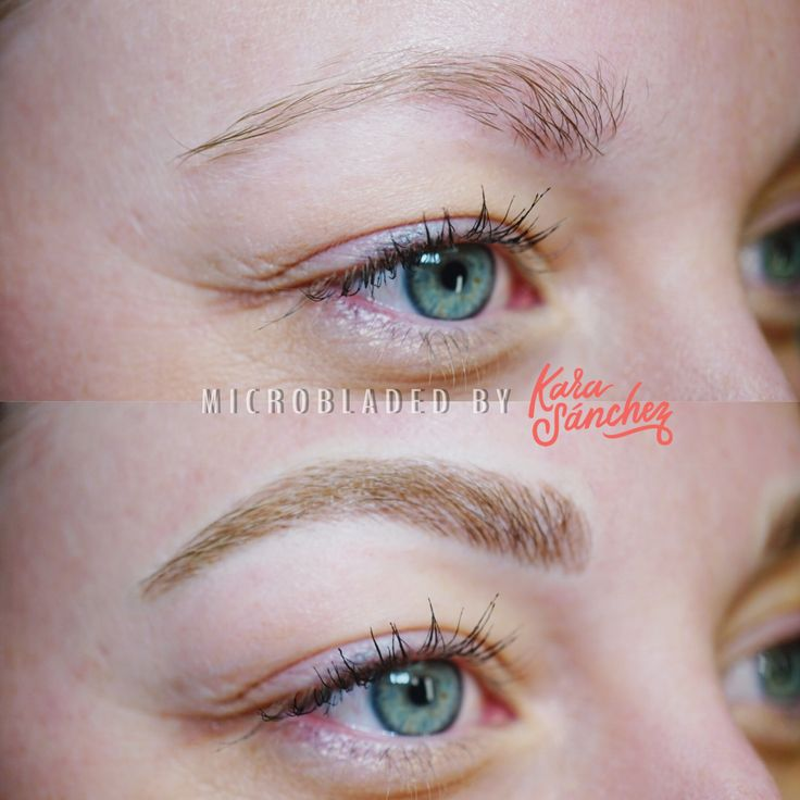 eyebrow microblading blonde hair. before \u0026 after | kara sanchez beauty make up eyebrows microblading eyebrow blonde hair d