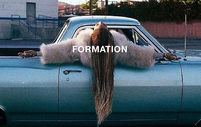 "On the eve of her halftime performance at the 50th Super Bowl (featuring Coldplay), Texas-Bama Bey unexpectedly released a video for the new single ""Formation."" Twitter went HAM. Facebook Twitter From ruining everyone's Saturday plans. When you had things to do and places to go but Beyoncé just threw your entire day off course. pic.twitter.com/P8yMs7EvMs —"