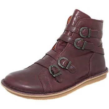 Boots / Chaussures montantes Kickers Boots  waxing bordeaux, chaussure femme femme  a11kick282 Rouge 350x350
